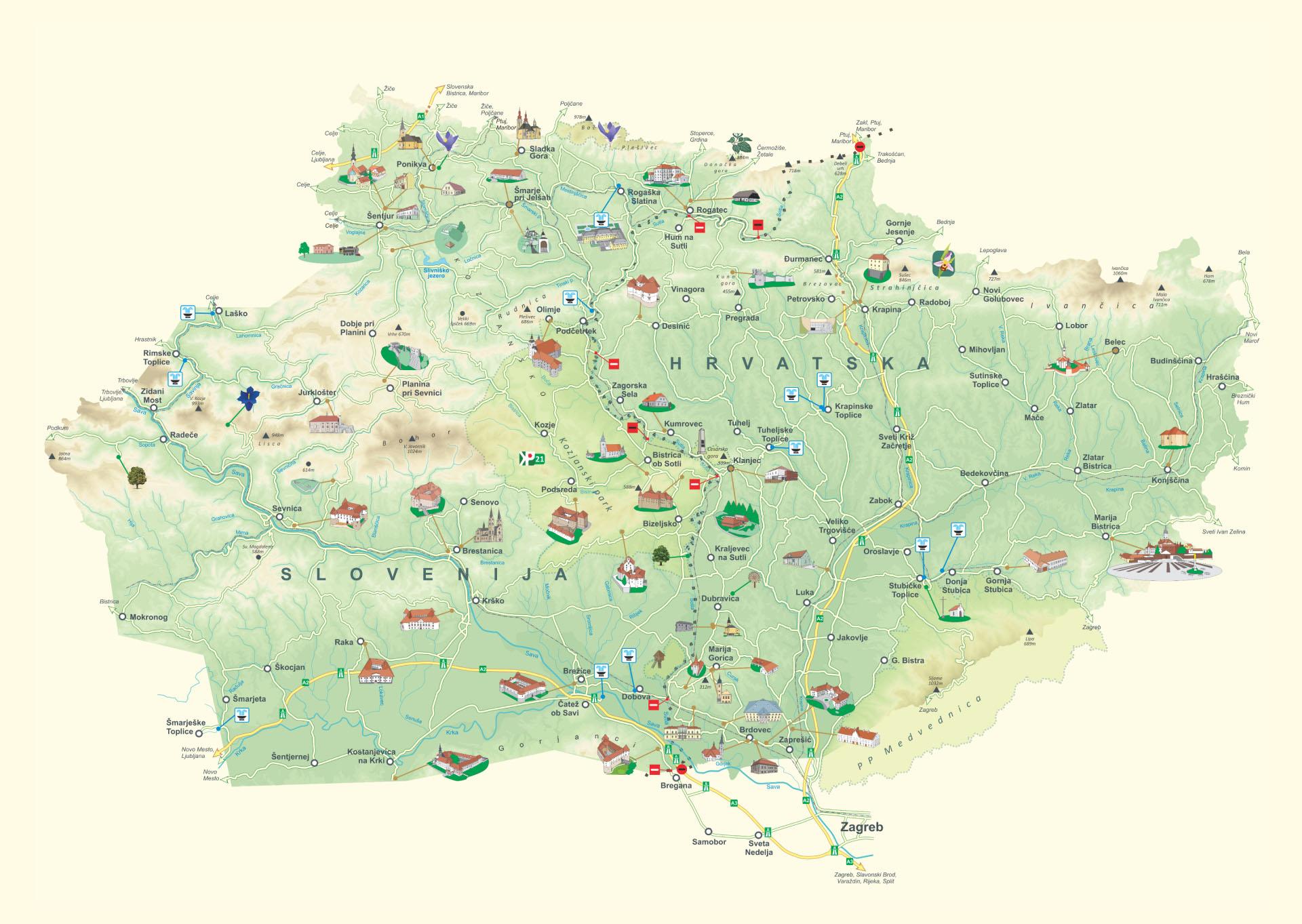 Karta območja