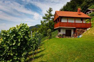 Rogaska Slatina, Cerovec, Kregar, vinograd, arhitektura